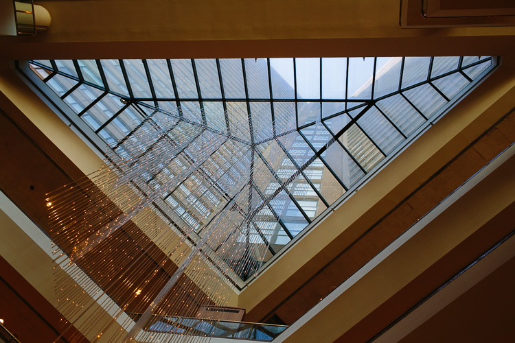 Marriott Copley atrium