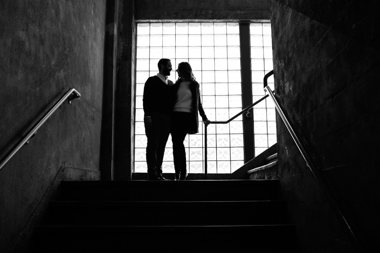 artful East Boston engagement photography