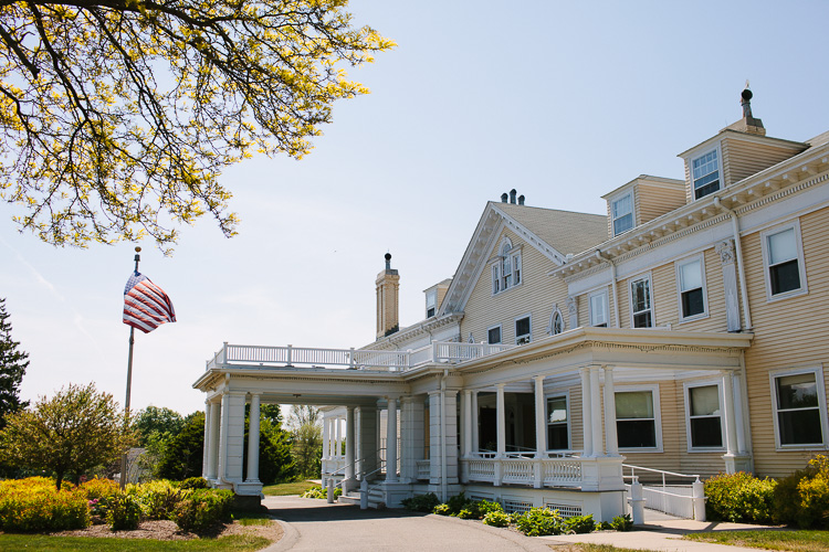 The Endicott Estate in Dedham, MA