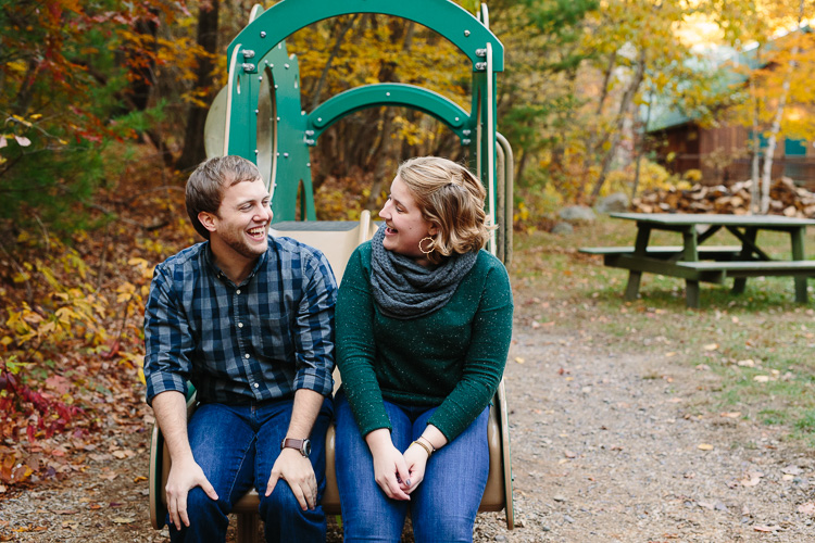 candid engagement photography at Breakheart Reservation in Saugus, Massachusetts