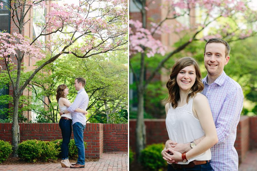 tufts engagement photos