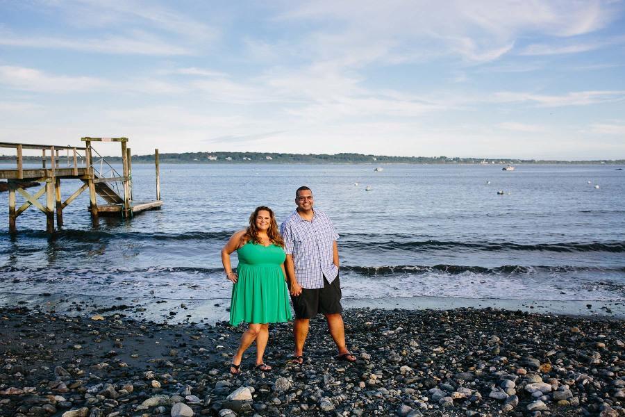 Narragansett engagement session | Kelly Benvenuto Photography | Boston wedding photographer