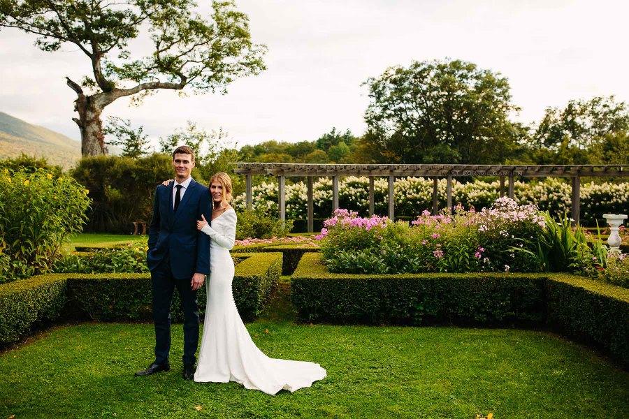 Hildene wedding of Morgan and Andy in Manchester, VT | Kelly Benvenuto Photography | Boston Wedding Photographer